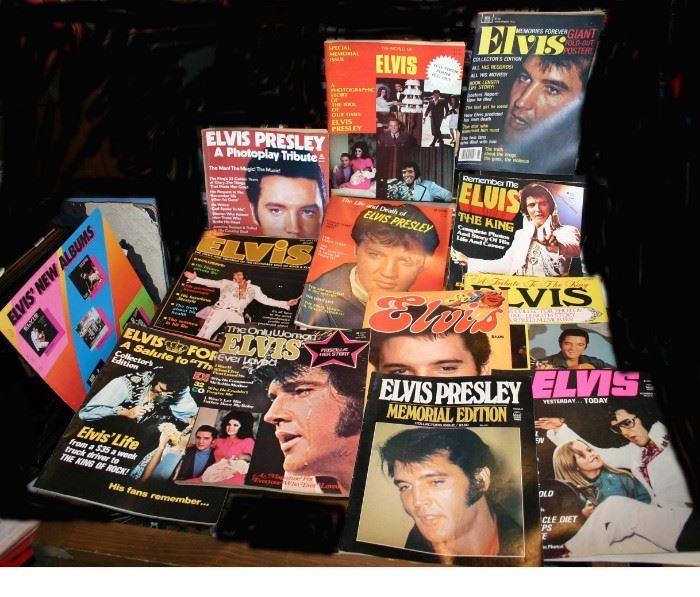 Elvis Presley magazines