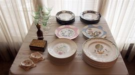 Fancy China inc. Limoges, French, Depression Glass and more