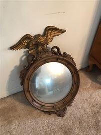 Colonial Eagle convex mirror