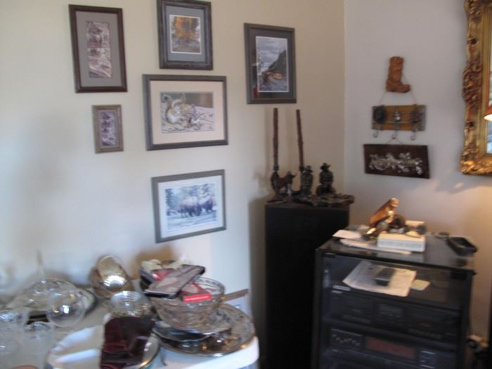 Many Jim Reed numbered prints - he is a well known artist that  painted several Yellowstone National Park scenes. - Check out his FB page!   Many Western art collectables!