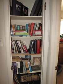 Coffee table books, resource books and MANY western themed books