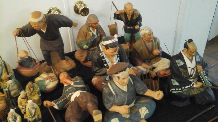 Japanese Hakata Dolls