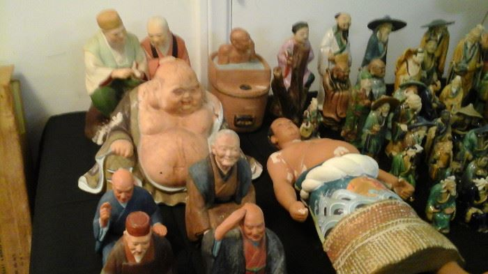 More Japanese Hakata Dolls and Mud Men