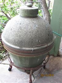 Rare Antique Japanese Kamado BBQ Grill