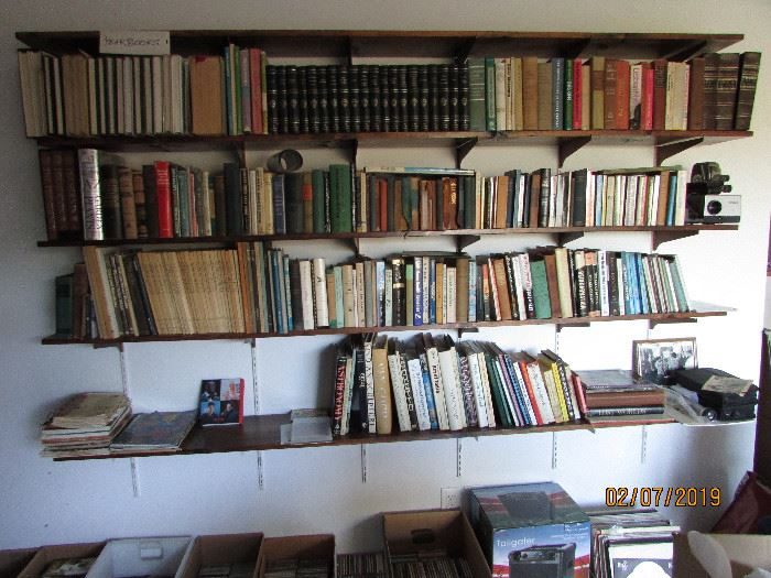 Antique books, Theosophy, Philosophy, Gardening, Health, Dr. Seuss, etc.