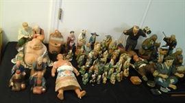 Hakata Dolls and Mud Men