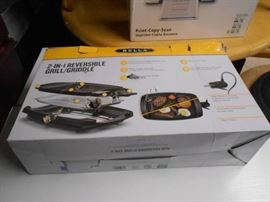 Bella 2 in 1 Reversible Grill Griddle