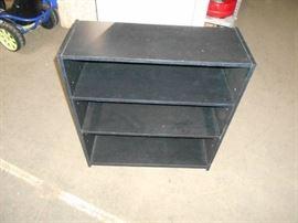 Black Three Shelf Book case