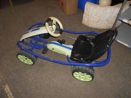 Child Size Pedal Go Kart