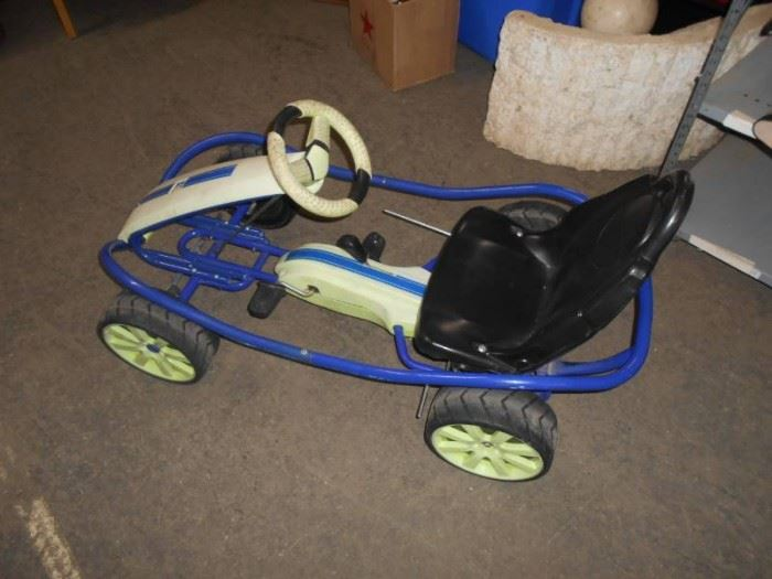 Child Size Pedal Go Kart