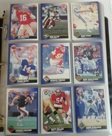 Complete 1991 Score Football Trading Card Set With ...