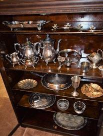 Antique Silver Service pieces