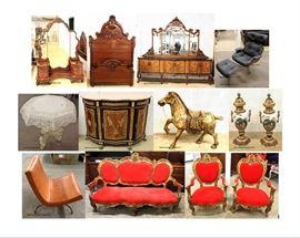 Antiques Mid Century Modern  Decorator  Designer  Brand Name