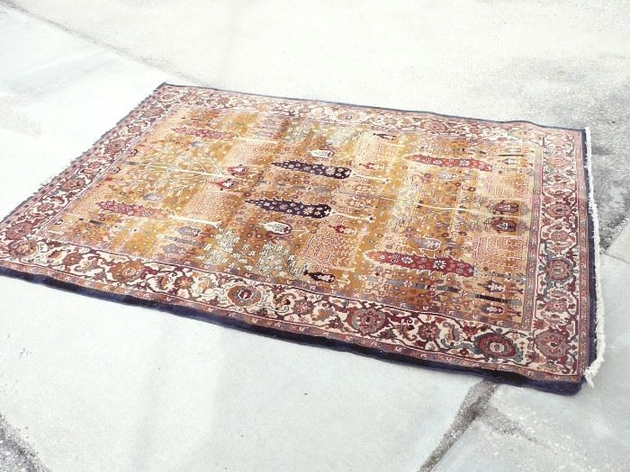 6 by 9 foot Persian Rug made by Karastan  Starting at $299