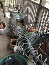 Lots of outdoor and garden decor