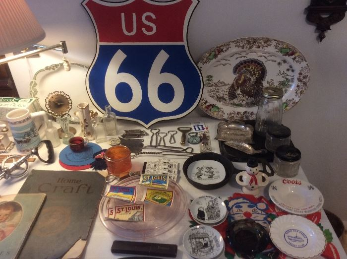 Tables of vintage