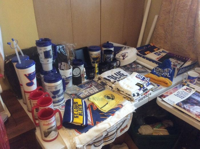 Tables of blues items