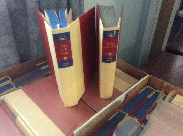 Zane Grey. Books. Never used