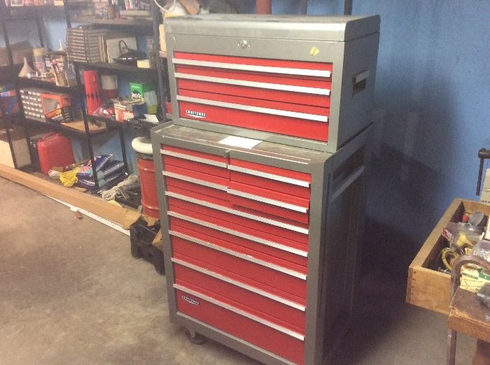Craftsman's tool cabinet