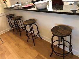 4 bar chairs