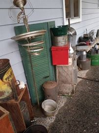 There are many many fabulous metal pieces at this sale.
