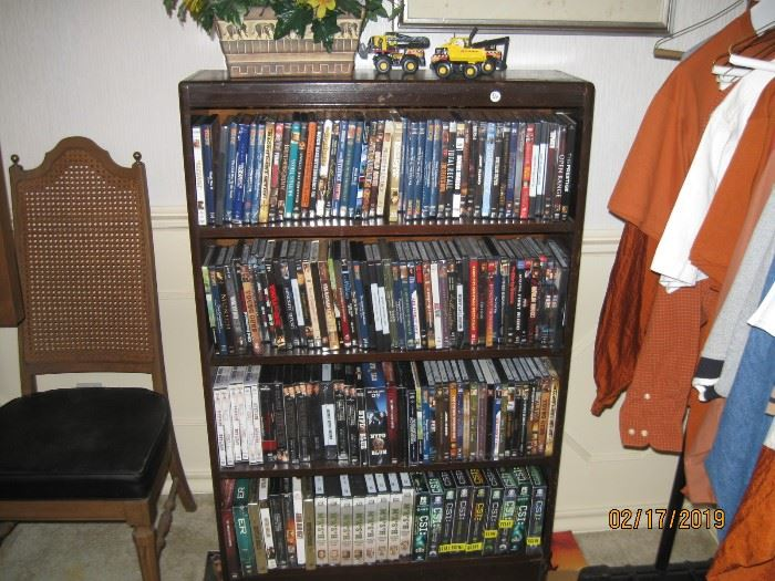 DVD's, many never opened.