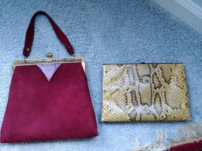 real snakeskin bag