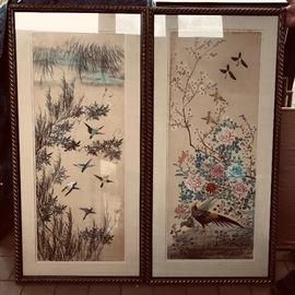 Fine oriental artwork