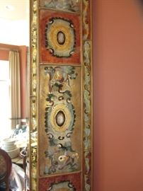 ROBERT WEISS REVERSE PAINTED MIRROR