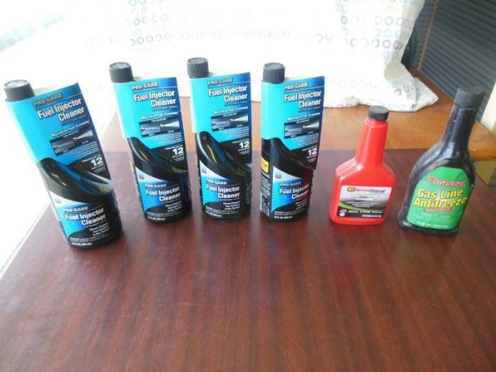 4 12 fl. Oz bottles of ProGard Fuel Injector, fu ...