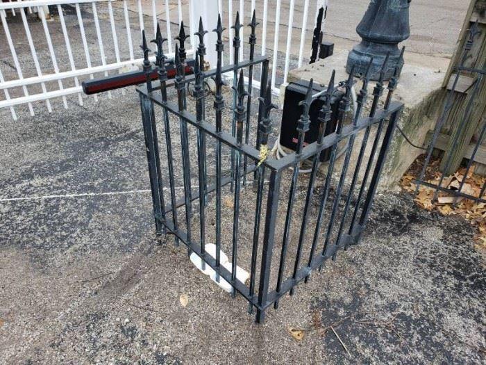 Metal U shaped protective barrier