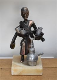 African Metal Sculpture / Statue
