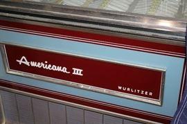 Vintage Wurlitzer Americana III Jukebox