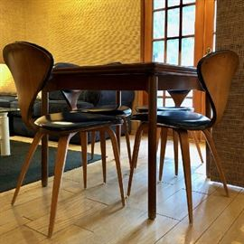 4 Cherner Plycraft Chairs