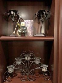 Quality Decorative Pieces, Candlesticks and Figurine