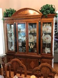 "China cabinet measures: 69""Lx89""Hx19""D"