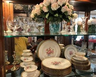"Theodore Haviland, NY ""WINFIELD"" China set"