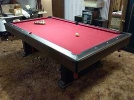 Pool Table with PingPong Top