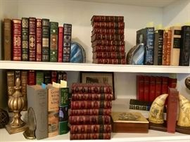Dickens, Gone with the Wind, Leatherbound classics & other fine books