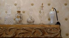 More of the perfume bottles