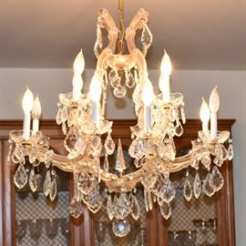 Beautiful Crystal Chandelier is Available