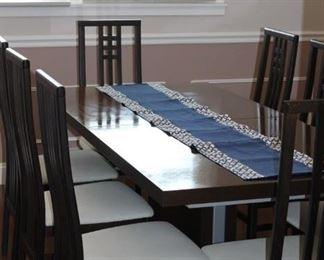 Italian Walnut Dining Table
