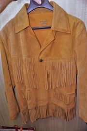 Vintage Mexican leather jacket