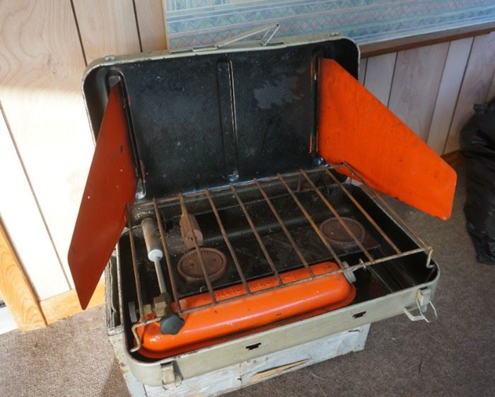 Vintage portable grill