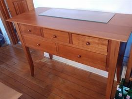 HUNT BOARD SOLID CHERRY WOOD BUFFET SERVER.. MATCH WITH CABINETS AND DINNER TABLE..