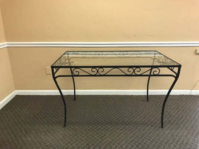 Vintage Wrought Iron Table