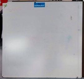 48 x 48 Dry Erase Whiteboards 6 Total  Bid  x ...
