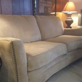 Beautiful Sofa with Matching Loveseat