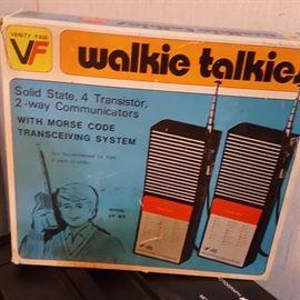 Vanity Fair Walkie Talkies, in box