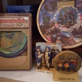 Several Bicentinnial collectables